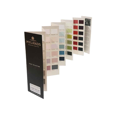 Mylands paint colour card