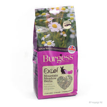 Load image into Gallery viewer, Burgess Excel Mountain Meadow Herbs 120g