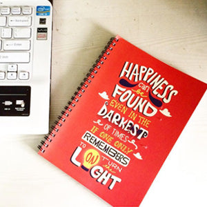 dumbledore spiral notebook