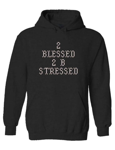2 Blessed Anthra Pullover Hoodie
