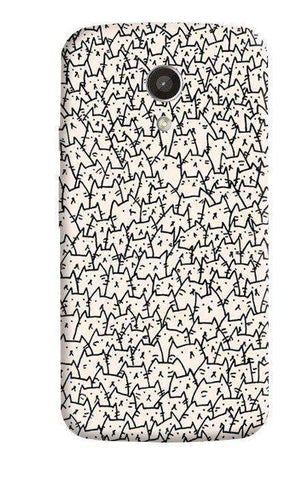 A Lot Of Cats Motorola Moto G 2nd Gen Case