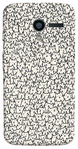 A Lot Of Cats Motorola Moto X Case