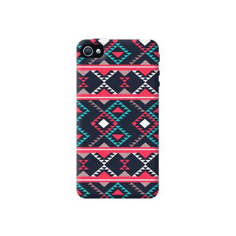 Abstract Tribal Apple iPhone 4/4S Case
