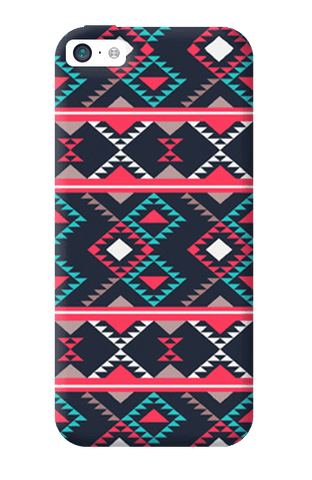 Abstract Tribal Apple iPhone 5C Case
