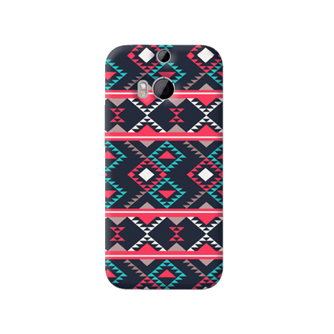 Abstract Tribal HTC One M8 Case