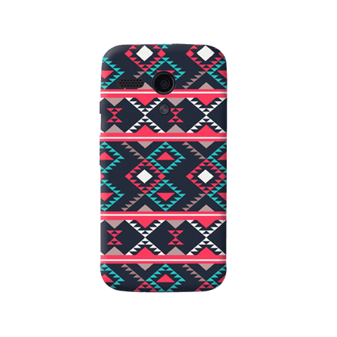 Abstract Tribal Moto G Case