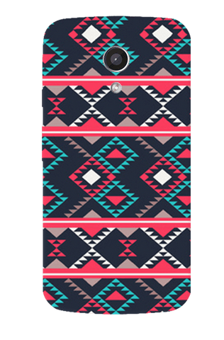 Abstract Tribal Motorola Moto G 2nd Gen Case