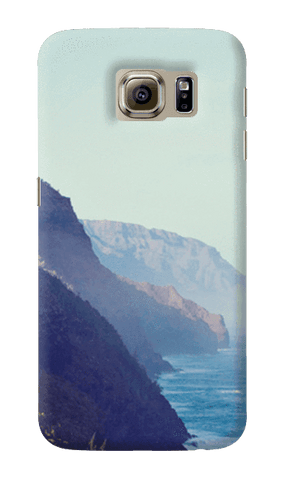 Along The Ocean Samsung Galaxy S6 Case