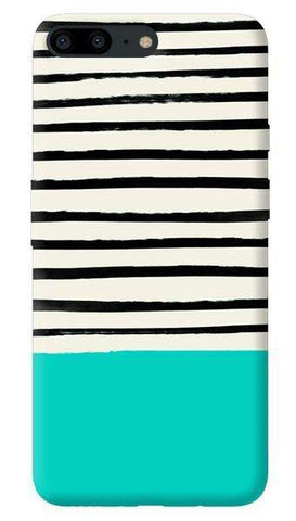 Aqua Stripes Oneplus 5 Case