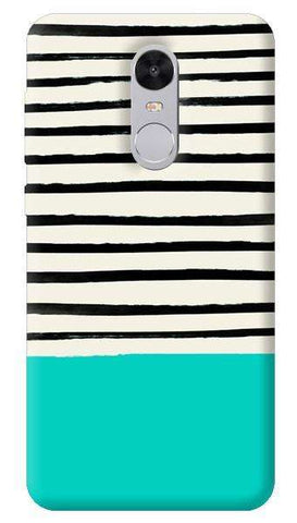 Aqua Stripes Xiaomi Redmi Note 4 Case