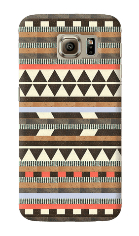 Aztec Natural Samsung Galaxy S6 Case