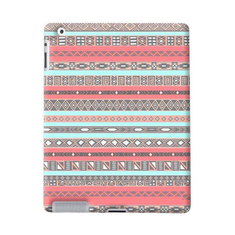 Baby Blue Aztec Apple iPad Case