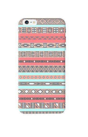 Baby Blue Aztec Apple iPhone 6 Plus Case
