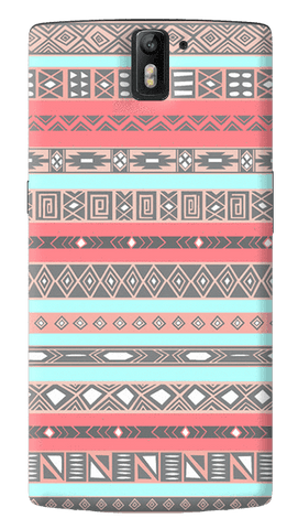 Baby Blue Aztec Oneplus One