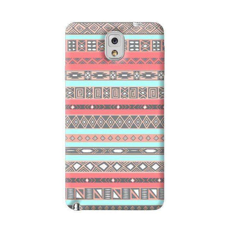 Baby Blue Aztec Samsung Galaxy Note 3 Case