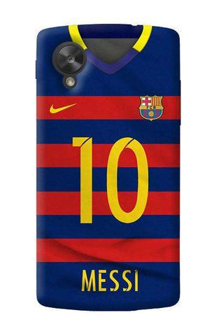 Barcelona Messi   LG Nexus 5 Case