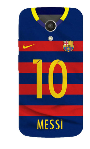Barcelona Messi  Motorola Moto G 2nd Gen Case