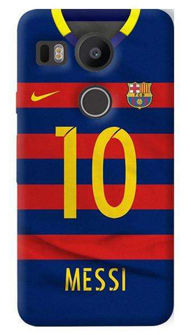 Barcelona Messi  Nexus 5X Case