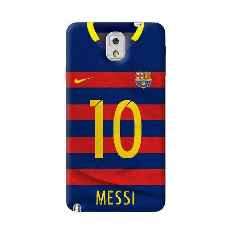 Barcelona Messi  Samsung Galaxy Note 3 Case
