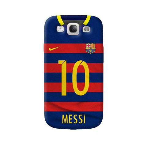 Barcelona Messi  Samsung Galaxy S3 Case