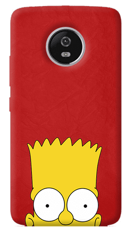 Bart Motorola Moto G5 Plus Case