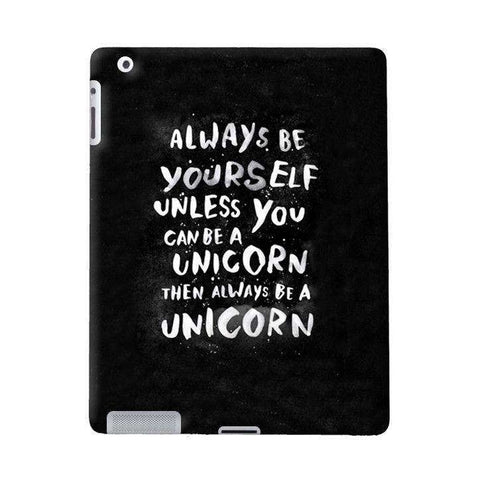 Be A Unicorn Apple iPad Case