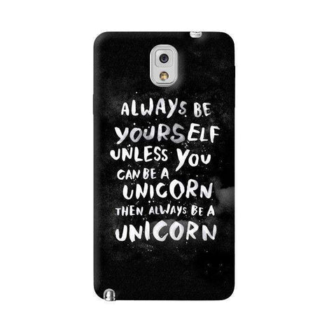 Be A Unicorn Samsung Galaxy Note 3 Case