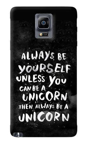Be A Unicorn Samsung Galaxy Note 4 Case