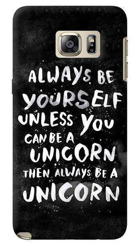 Be A Unicorn Samsung Galaxy Note 5 Case