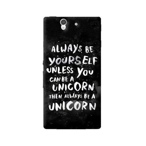 Be A Unicorn Sony Xperia Z Case