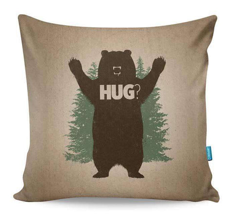 Bear Hug Cushion Cover