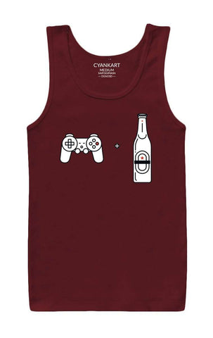 Beer And Gaming Tank Top