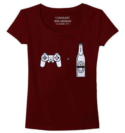 Beer And Gaming Women's T-Shirt