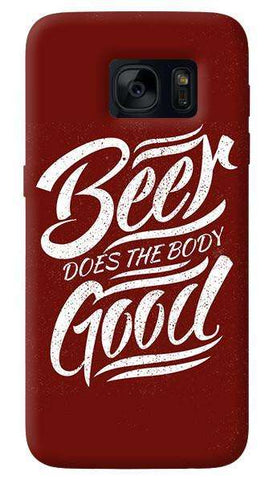Beer Does God   Samsung Galaxy S7 Case