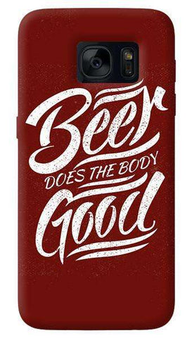 Beer Does God   Samsung Galaxy S7 Edge Case