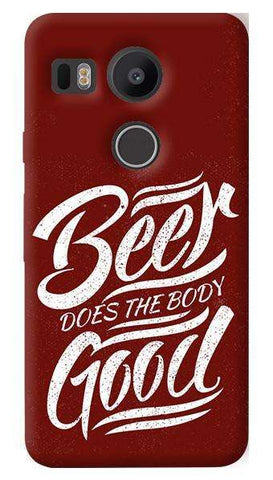 Beer Does God  Nexus 5X Case