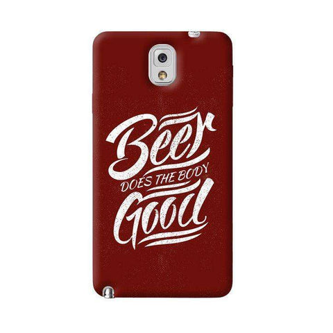 Beer Does God Samsung Galaxy Note 3 Case