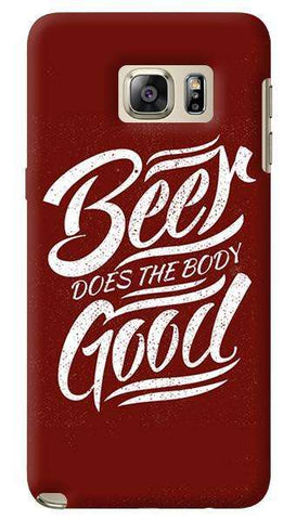 Beer Does God Samsung Galaxy Note 5 Case