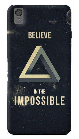 Believe In The Impossible  Oneplus X Case