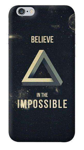 Believe In The Impossible Apple iPhone 6/6S Case