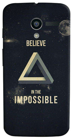 Believe In The Impossible Motorola Moto X Case