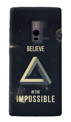 Believe In The Impossible OnePlus Two Case