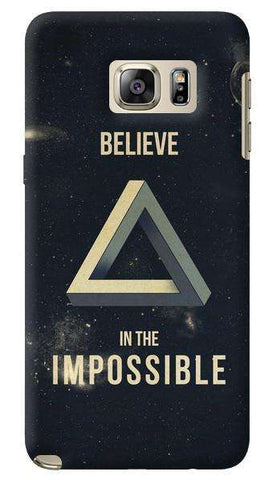 Believe In The Impossible Samsung Galaxy Note 5 Case