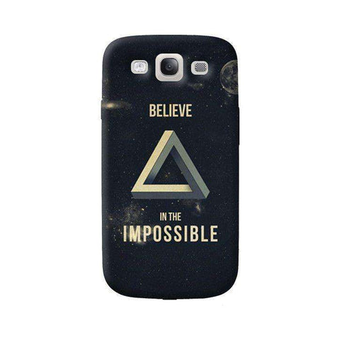 Believe In The Impossible Samsung Galaxy S3 Case