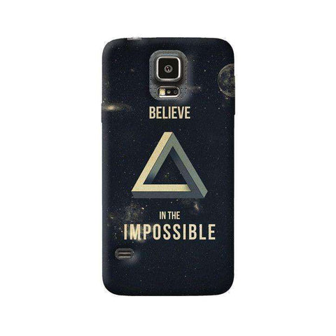 Believe In The Impossible Samsung Galaxy S5 Case