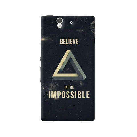 Believe In The Impossible Sony Xperia Z Case