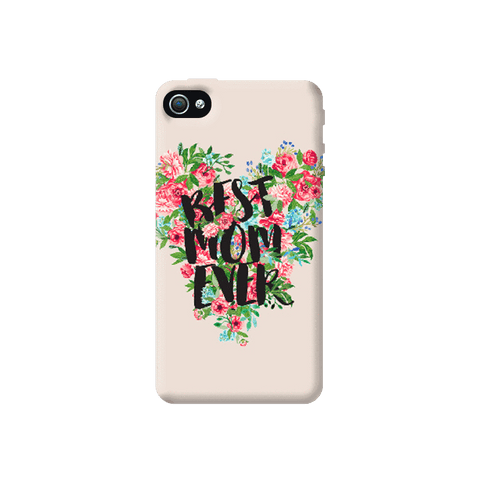 Best Mom Ever Apple iPhone 4/4S Case
