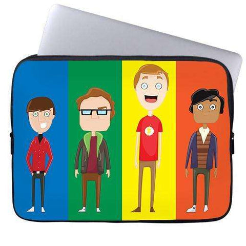 Big Bang Theory Laptop Sleeve