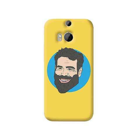 Bilzerian   HTC One M8 Case