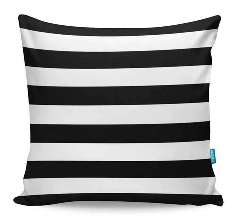 Black & White Stripes Cushion Cover